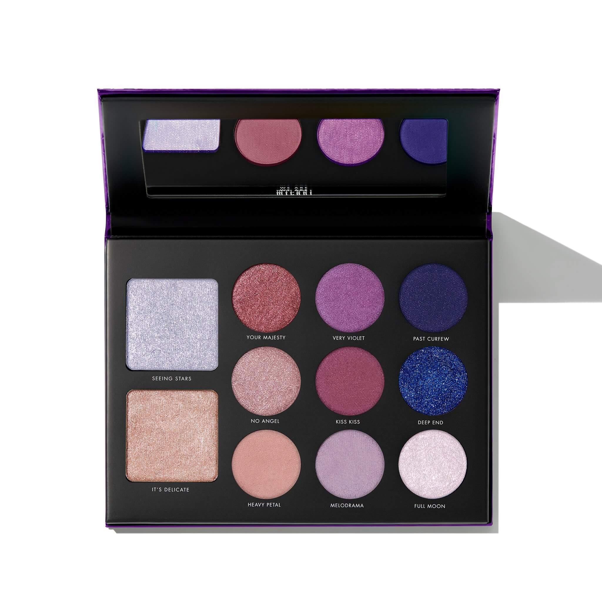 Gilded Violet Eyeshadow Palette